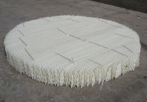 plastic wire mesh structured packing